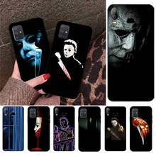 Чехол для телефона CUTEWANAN Halloween The Curse Of Michael Myers Horror для Samsung A10 A20 A30 A40 A50 A70 A80 A71 A91 A51 A6 A8 2018(Китай)