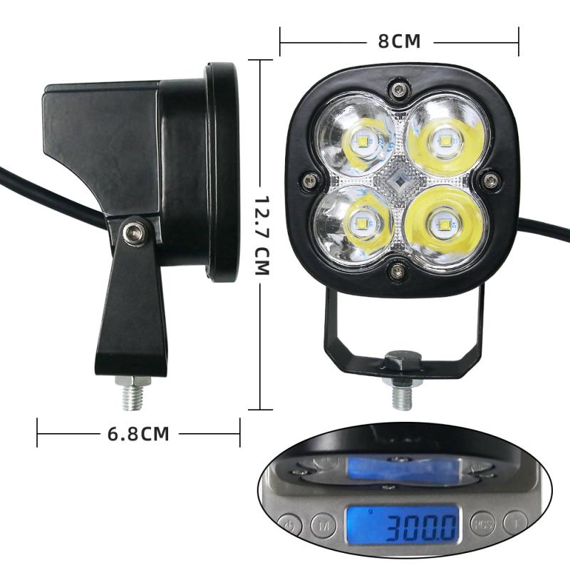 Work-Light Motorcycle Led Off-Road with Roof-Lamp Automobile Color 40W 1pc title=