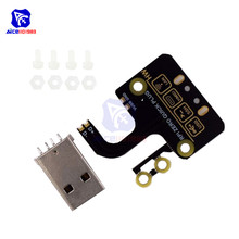diymore Raspberry Pi Zero W Micro USB to Type A USB Adapter Expansion Board USB Power