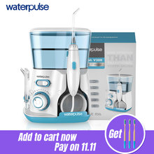 Waterpulse Oral-Irrigator Tips Electric-Cleaner Dental-Flosser Oral-Hygiene 800ml V300G