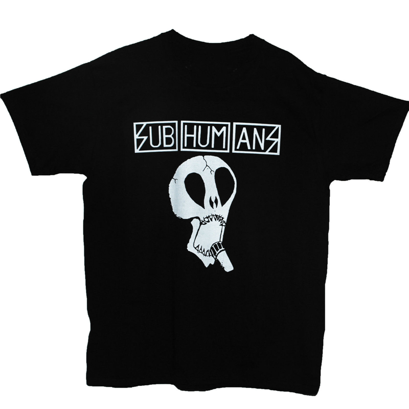 Subhumans *The Day the Country Died Rock Band Men/'s Black T-Shirt Size S to 3XL