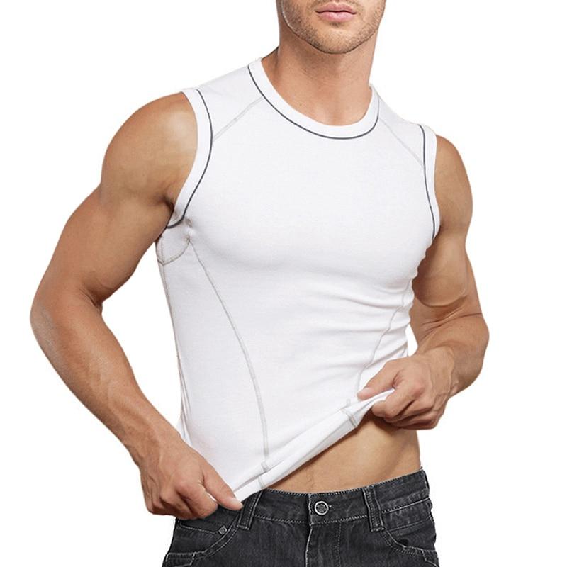 2 Pack Ladies Cotton Thermal Underwear Singlet Vest Sleeveless Top White
