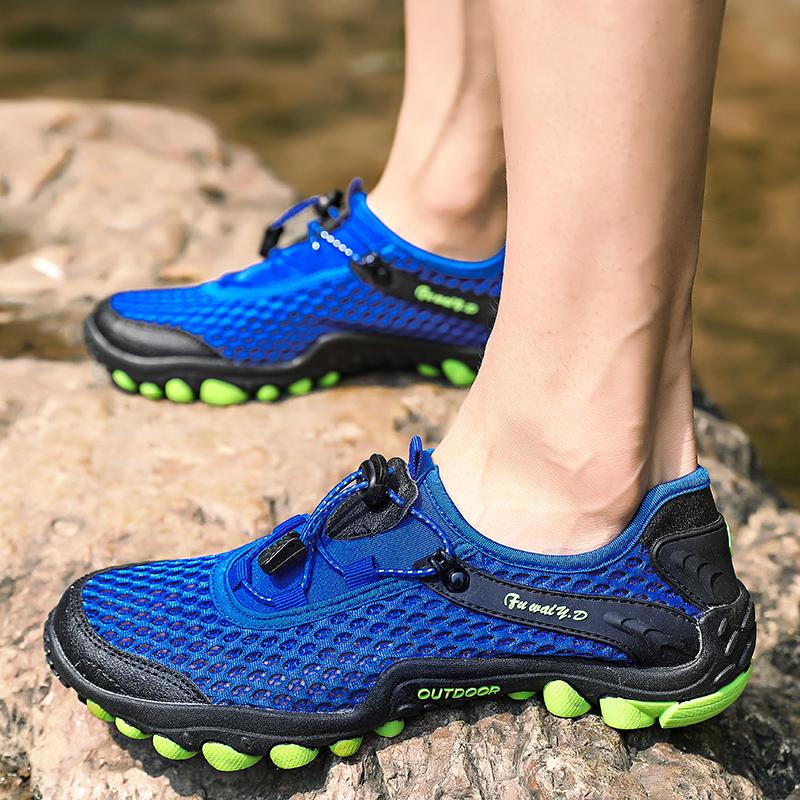 Aqua Shoes Ultra-light Quick-drying Beach Water River Walking 2019 Summer Men Mesh Breathable Flotillas Outdoor Hiking (55)
