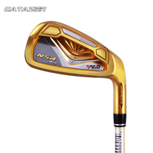 Catazer Golf Clubs Iron Set Golf Irons Hybrid Golf Club Manufacturers 7th Irons Beginners Practice Pole Driver Golf Club