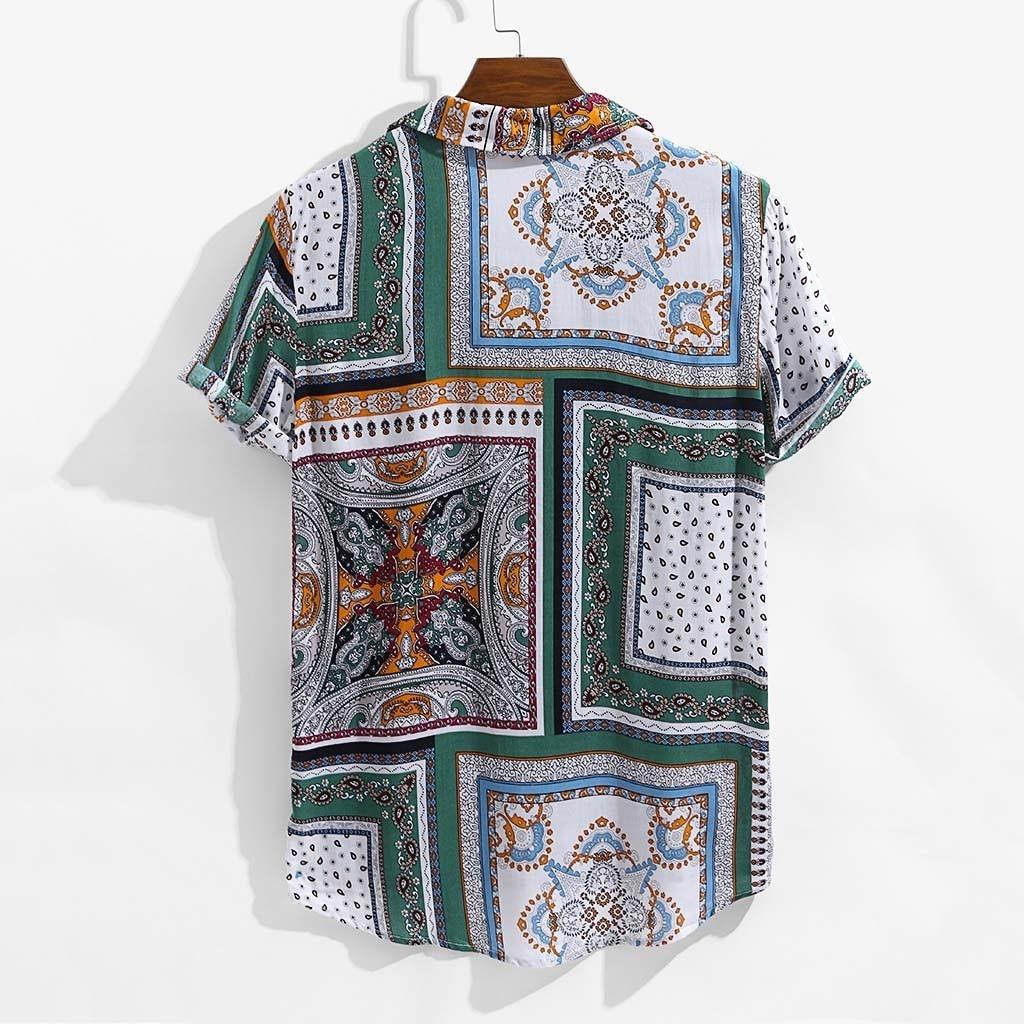 /camiseta a cuadros /F/ácil cuidado de hombre /de Calidad/ r/ústica/ Country Classics/ /pesada/