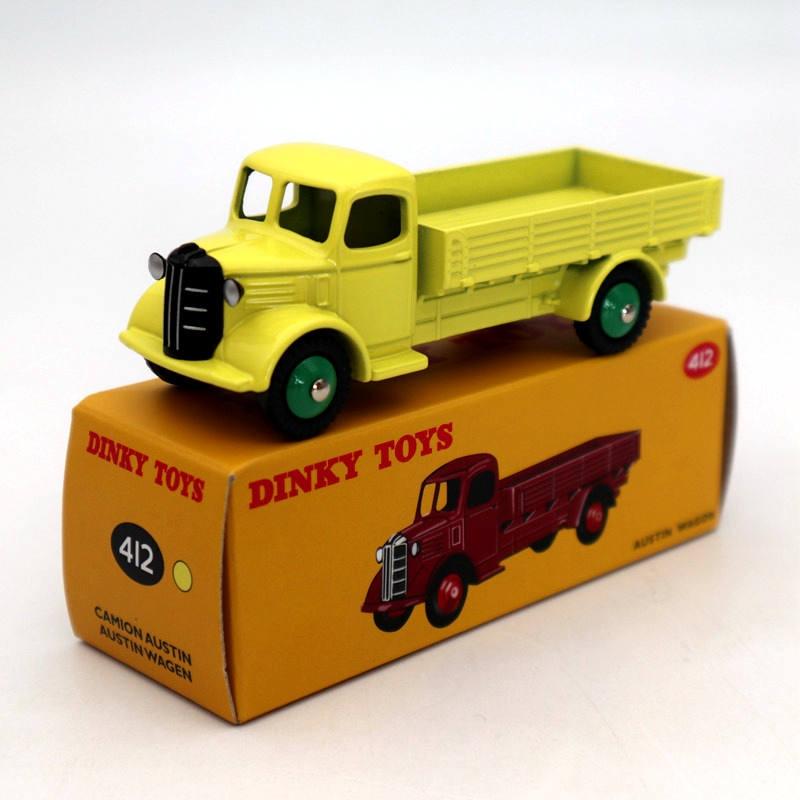 1//43 ATLAS DINKY TOYS 412 AUSTIN WAGON CAMION AUSTIN ALLOY DIECAST CAR MODEL