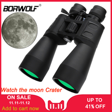 Borwolf Binoculars HD Hunting-Telescope Professiona Zoom Times 10-380X100 Long-Range
