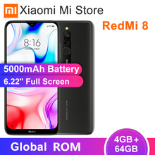 Xiaomi Redmi 8 4GB 64GB GSM/CDMA/LTE/WCDMA Octa Core Fingerprint Recognition 12MP New