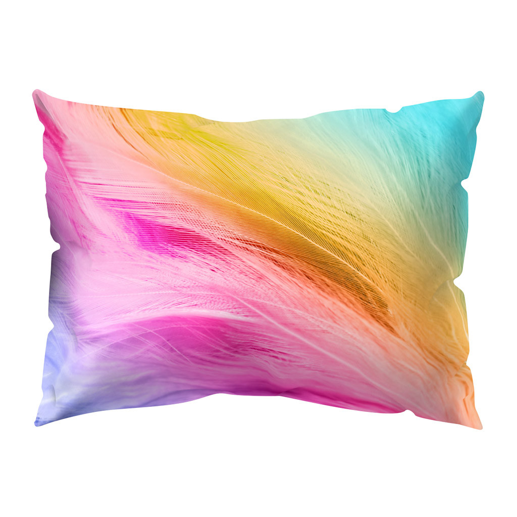 Print Pillow Case Polyester Sofa Car Cushion Cover Home Decor 30 X 50cm