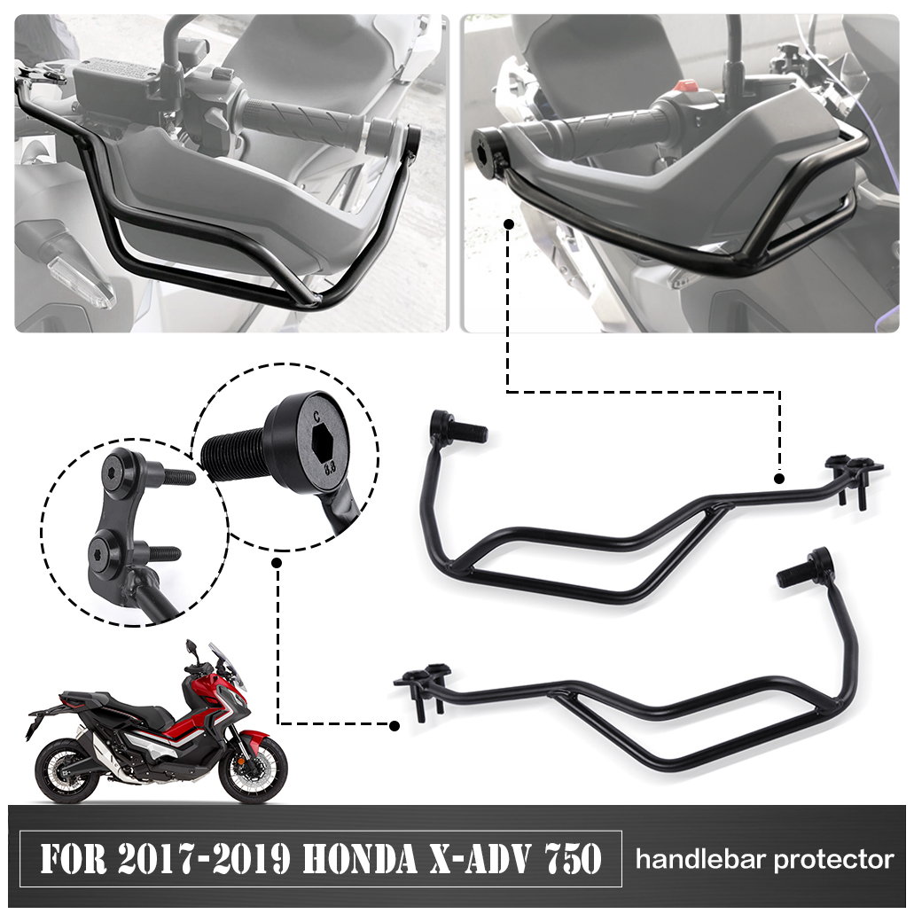 RED+BLACK X-ADV Motorcycle Kickstand Side Stand Enlarger Extension Enlarger Pate Pad For Honda XADV X-ADV 750 2017 2018