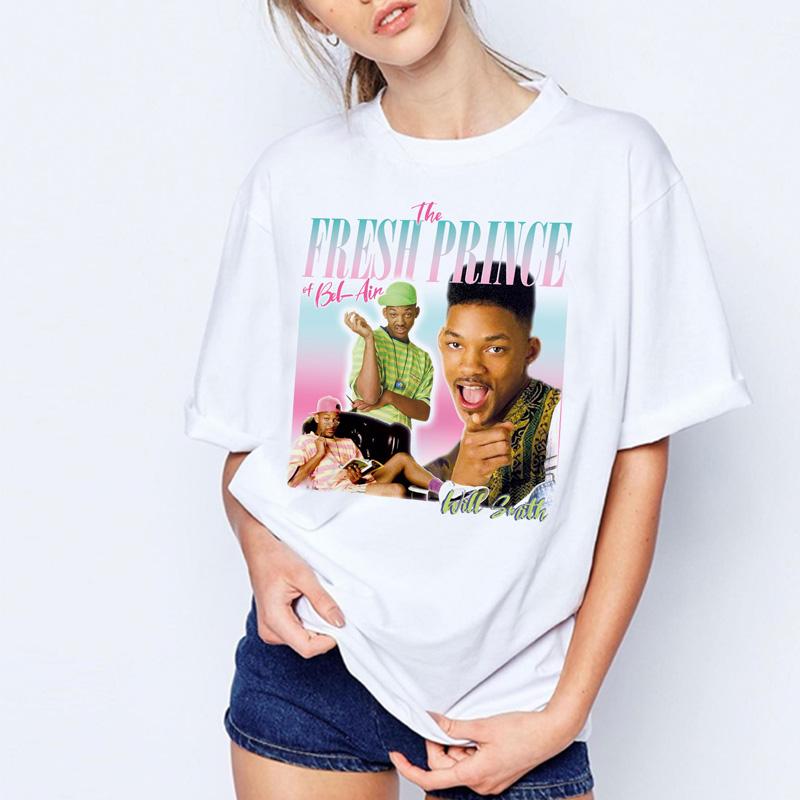 Will Smith Fresh Prince Funny Men Women Long Short Sleeve Baseball T Shirt 2010