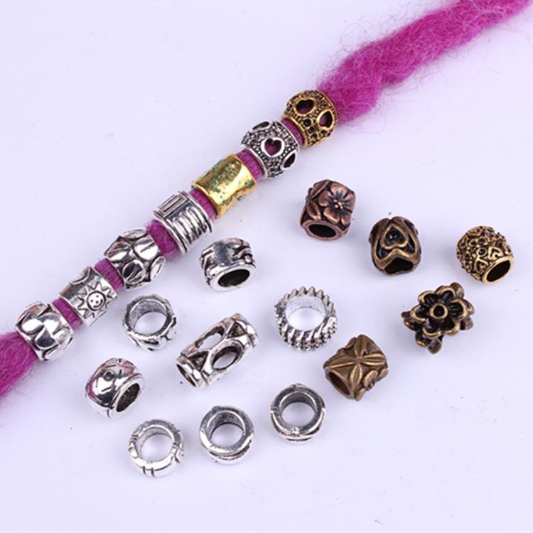 acheter pas cher Bijoux dreadlocks lot de 5 Pcs  | Rasta Lion