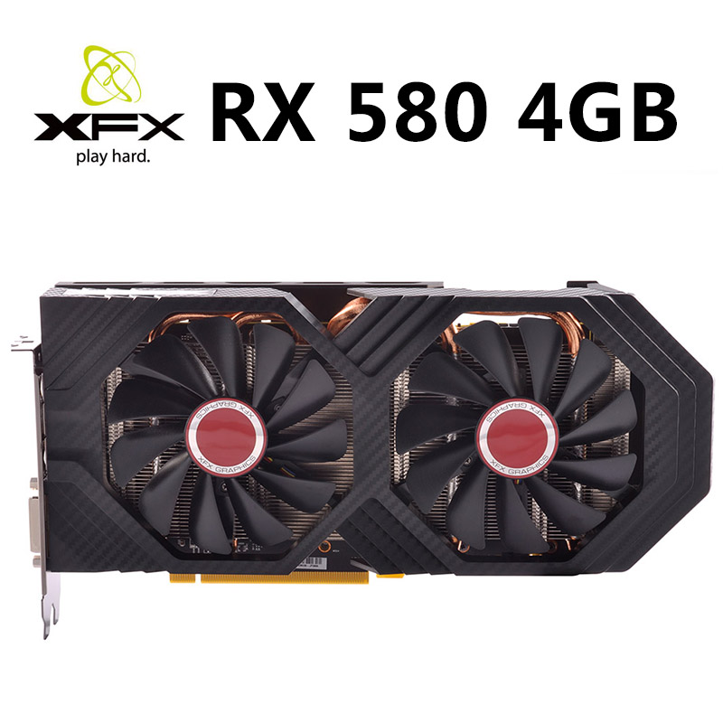 XFX Graphics Cards Pc Gaming Desktop GDDR5 Not-Mining 4g-Used 580 4GB 256bit title=