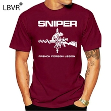 Fashion Hot sale French Foreign Legion T-Shirt Sniper Swat Military Tee Tee shirt