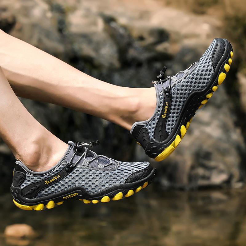 Aqua Shoes Ultra-light Quick-drying Beach Water River Walking 2019 Summer Men Mesh Breathable Flotillas Outdoor Hiking (36)