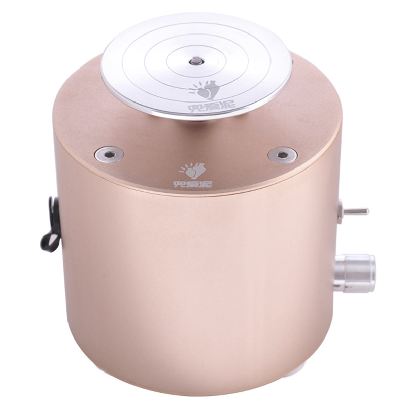 Mini Pottery Machine 6.5cm Turntable 2000RPM Mini Pottery Wheel Machine with Clay Ceramic Craft Tools 100-240V #2