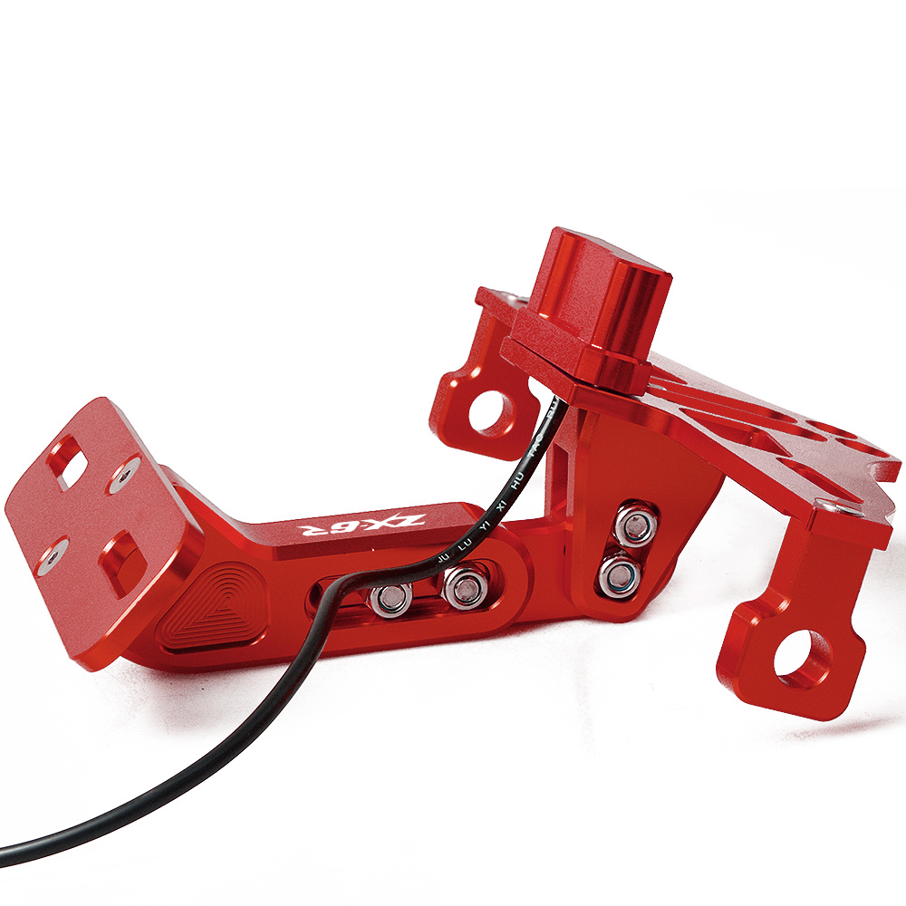 RED CNC regolabile moto leve freno frizione per Kawasaki ZX6R//636/zx-6r 2000 2001 2002 2003 2004