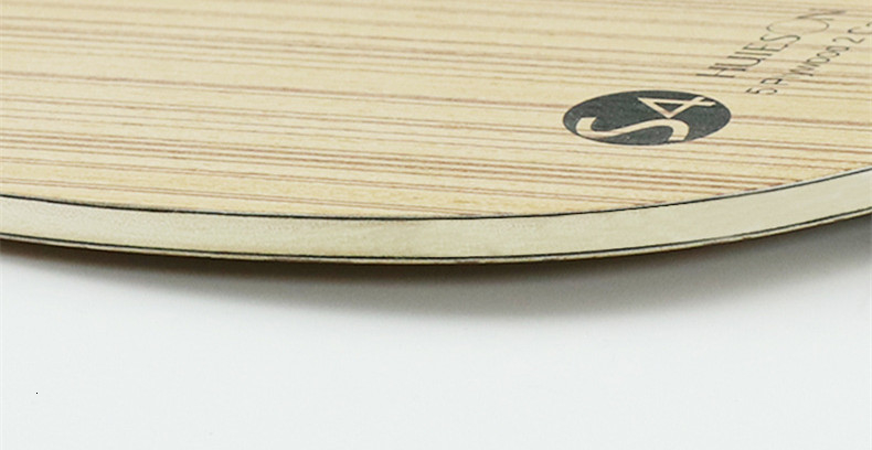 Huieson Professional Technology 5 Ply Composite Wood 2 Carbon Layer Table Tennis Racket Blade for LoopKilling Players S4 (6)