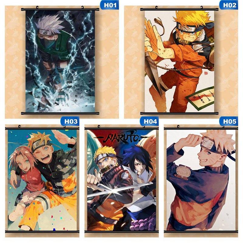 Naruto HD Print Anime Wall Poster Scroll Room Decor