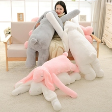 Stuffed Pillow Plush-Toy Animal Lovely Ear-Bunny Girl Gift Rabbit Soft Cartoon 90cm 120cm
