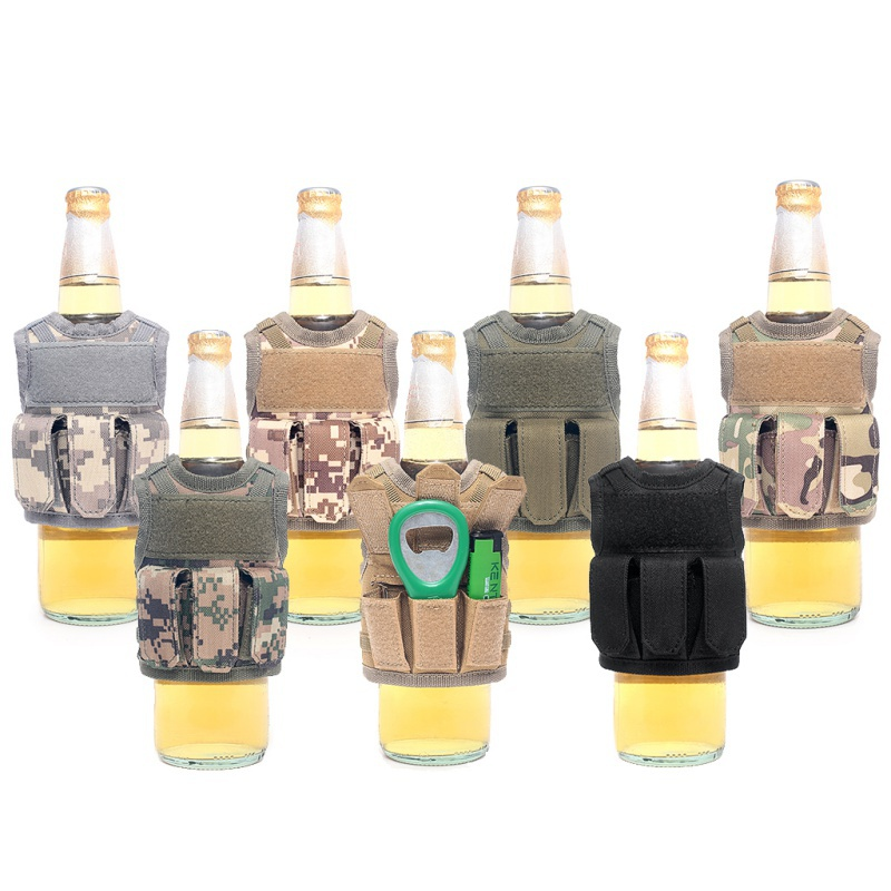 Ornament Beer-Bottle-Cover Nylon Mini Decoration Vest-Shape Ktv-Bar Drinks Adjustable title=