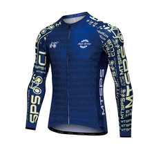 Cycling Jersey Clothing Open-Bike Printed Quick-Dry Long-Sleeved Fashion Zipper Breathable