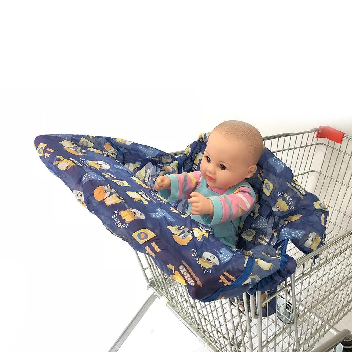 QCWN cubierta de asiento de coche para beb/é insectos y polvo se adapta mejor a los asientos est/ándar de reci/én nacidos toldo de algod/ón transpirable para proteger a los ni/ños del sol