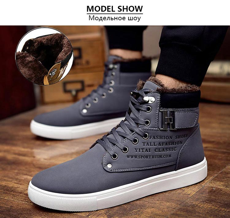Men-snow-boots-botas-masculina-2018-fashion-microfiber-PU-warm-Plus-cotton-ankle-boots-autumn-winter