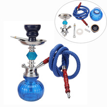 Shisha Hookah Bowl Charcoal-Tray Chicha Water-Pipe-Smoking Narguile Complete Arab Single-Hose