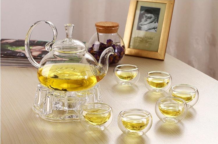 Service à thé en verre pas cher | oko oko