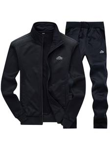 Tracksuits Men Sportswear Pants Jacket Spring Fitness Men's Polyester Casual Gyms