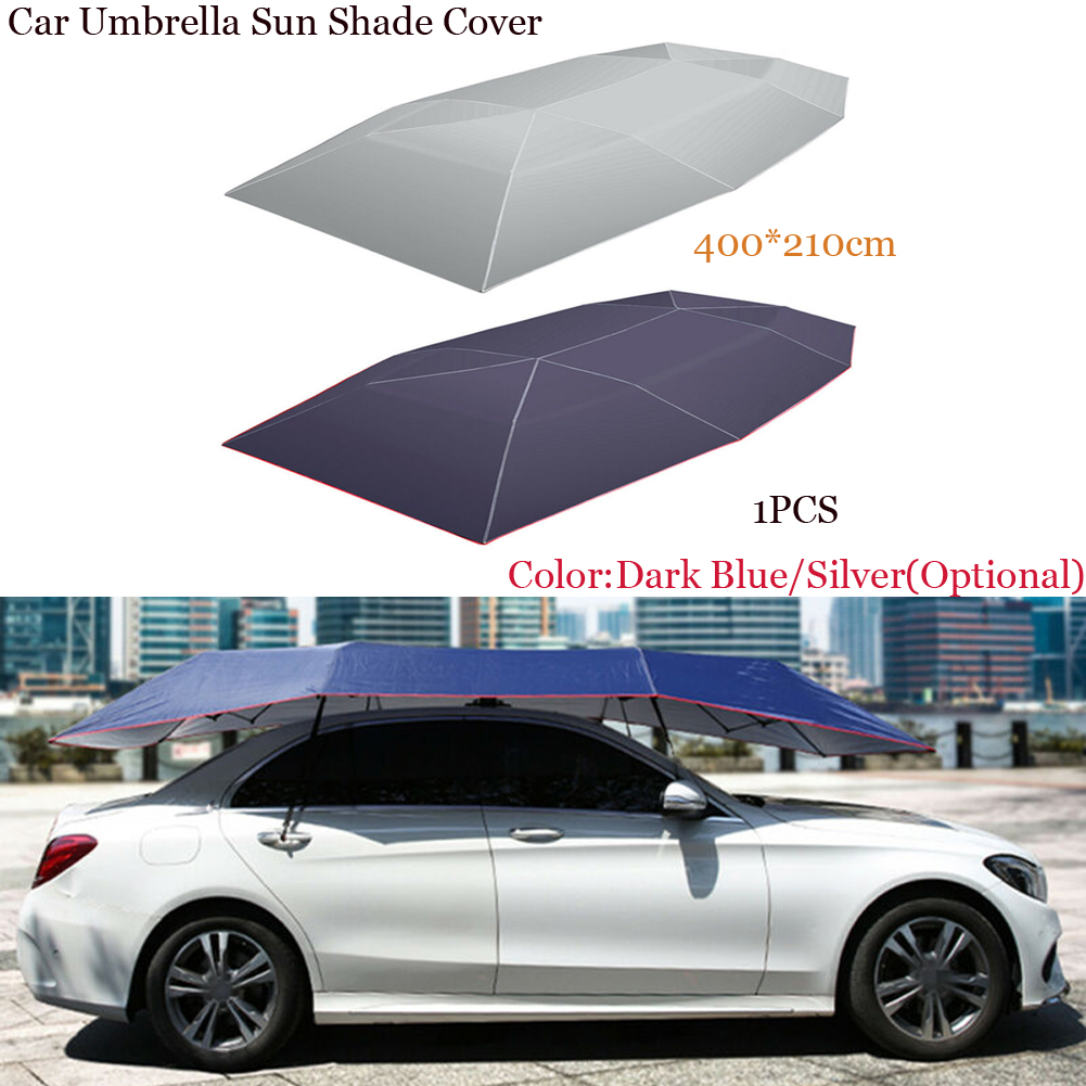 Car-Cover Tent Cloth SUN-SHELTER Car-Umbrella Dust-Proof Car-Protection Universal Sunshade title=