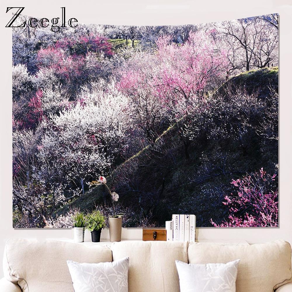 Zeegle 3D Printed Pattern Tapestry Wall Hanging Home Art Decora Mat Beach Towel Picnic Blanket Bedspread Mat Home Art Tapestry