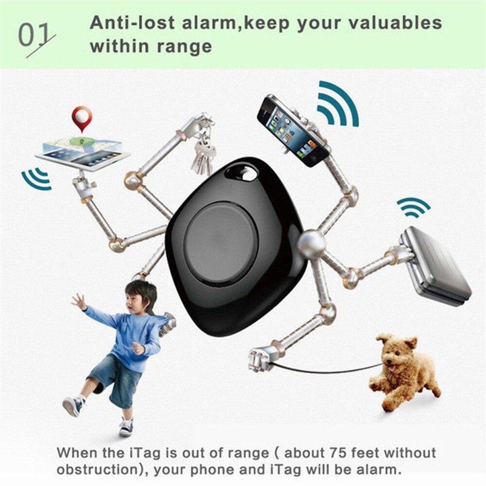 Human - Portable Bluetooth 4.0 Smart Mini Tag Tracker GPS Remote Locator Anti-lost Alarm For Pets Dog Cat Child Wireless Key Finder