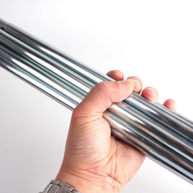 50 longitudes accesorios para poste de tuber/ía universal toldo de acampar acero galvanizado para tienda de campa/ña de acero telesc/ópico telesc/ópico Soporte ajustable para tienda de campa/ña