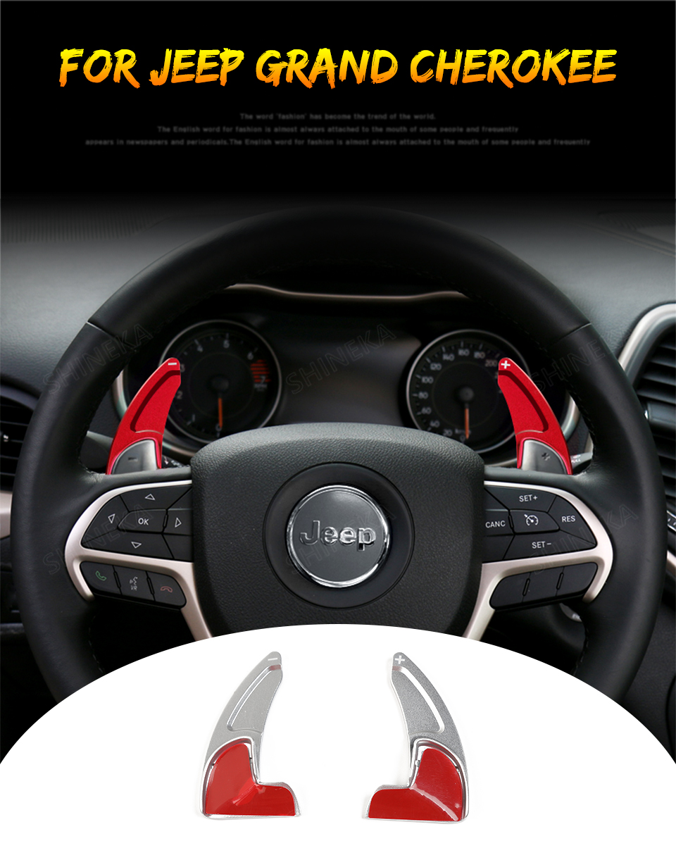 2pcs ABS Interior Steering Wheel Shift Slice Trim For Chevrolet Camaro 2017-2018