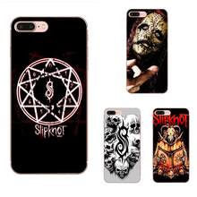 Slipknot рок американский логотип группы для Apple iPhone 4 4S 5 5C 5S SE 6 6S 7 8 Plus X XS Max XR Мягкий ТПУ узор(Китай)