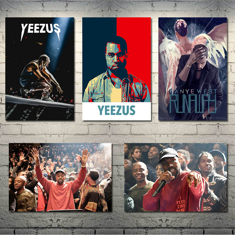 New Kanye West Runaway Hip Hop Custom Rap Music Ablum Silk Poster 13x20 32x48/'/'