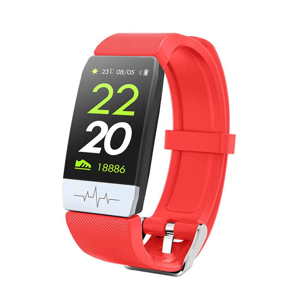 Wristwatch - New Q1S Fitness Tracker ECG PPG Waterproof Heart Rate Monitor Smart Band Weather Forecast Smart Bracelet For IOS Android