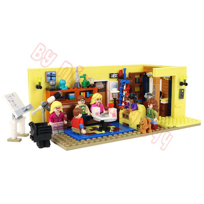 Ideas 16023 Building Blocks Sets Friends Série télévisée The Big Bang...