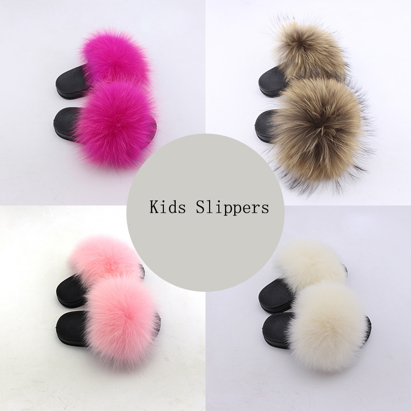 Shoes Flip-Flops-Slippers Slides Olomm Baby-Girls Kids Summer Chinelos Raccoon Menina
