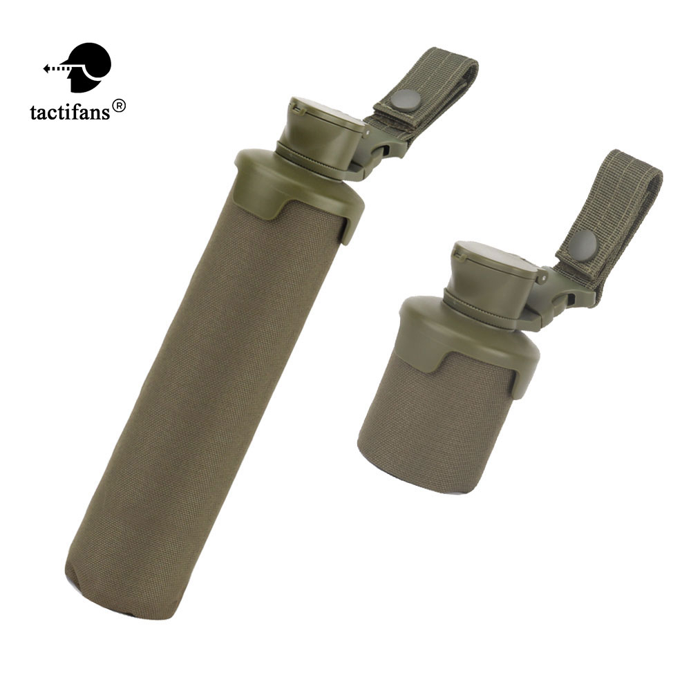 Tactic Molle Pouch Pack Bag Storage Water Bottle Military Interphone Holder ZH