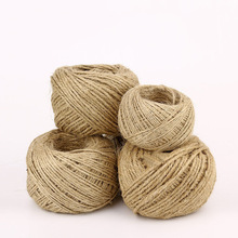 Natural Rope-String Packing Jute-Twine-Cord Christmas-Bottle Party-Decoration Gift Hemp