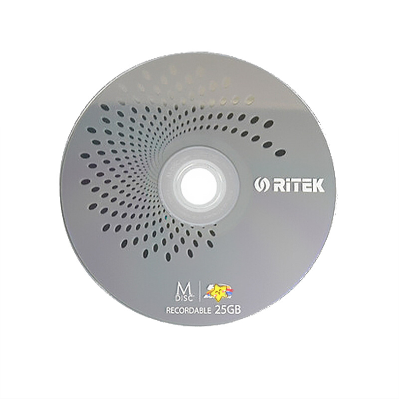 Wholesale 1 pcs 25 gb Printed BD-R M-Discs with Storage Duration of Up to 1000 Years. title=