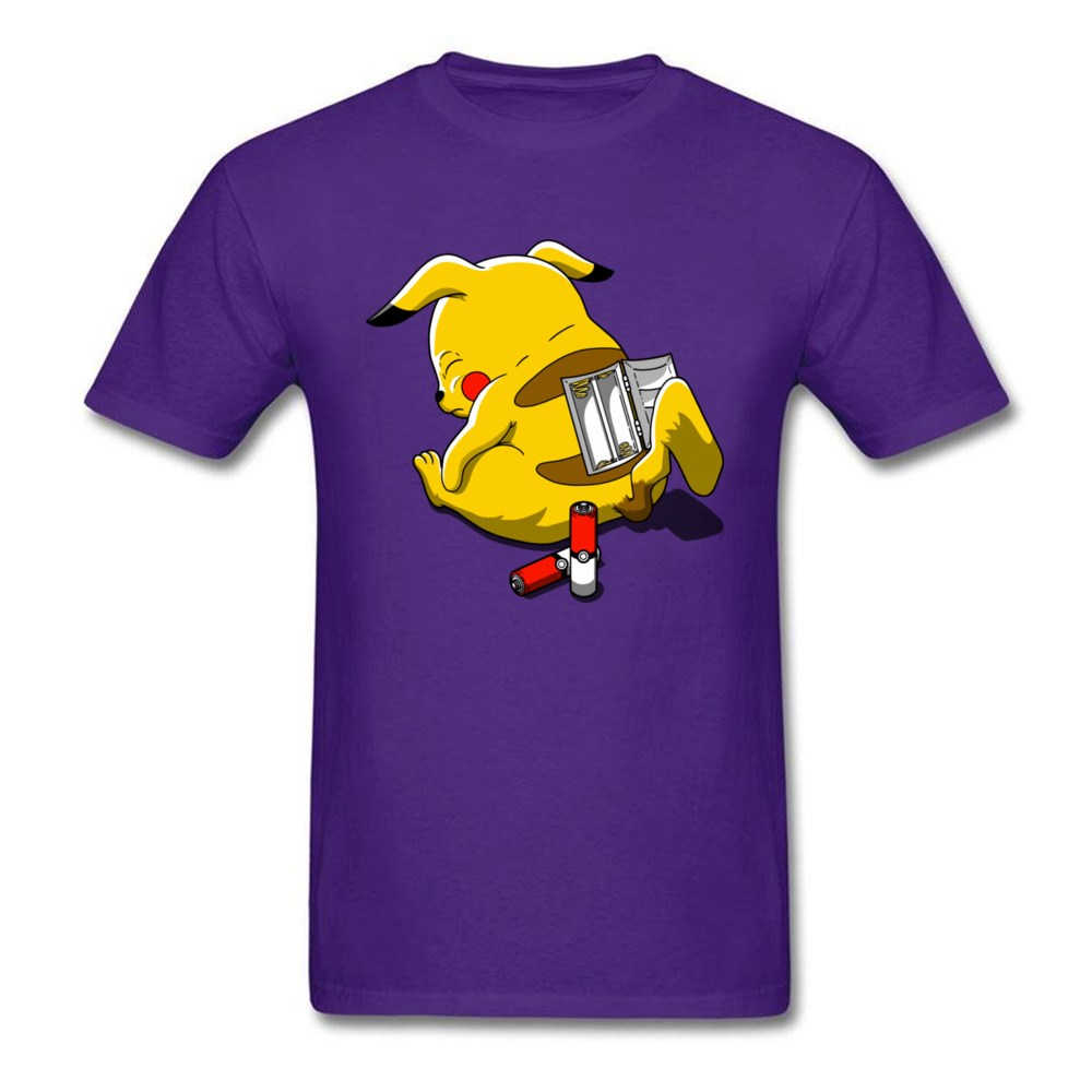 Normal Discharged._4396 Crewneck T Shirt Labor Day Tops Tees Short Sleeve for Men Hot Sale 100% Cotton Fabric Comics Tshirts Discharged._4396 purple