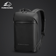 Laptop Backpack Mochila Business-Bag Kingsons Office-Work Slim Black Unisex Thin Men