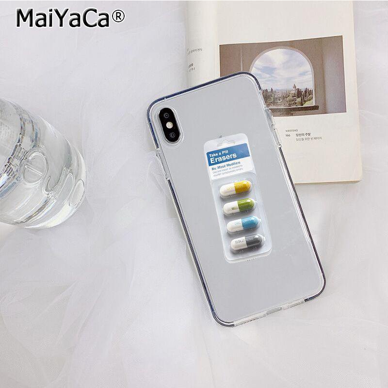 Transparent Medical drug Pill Capsule