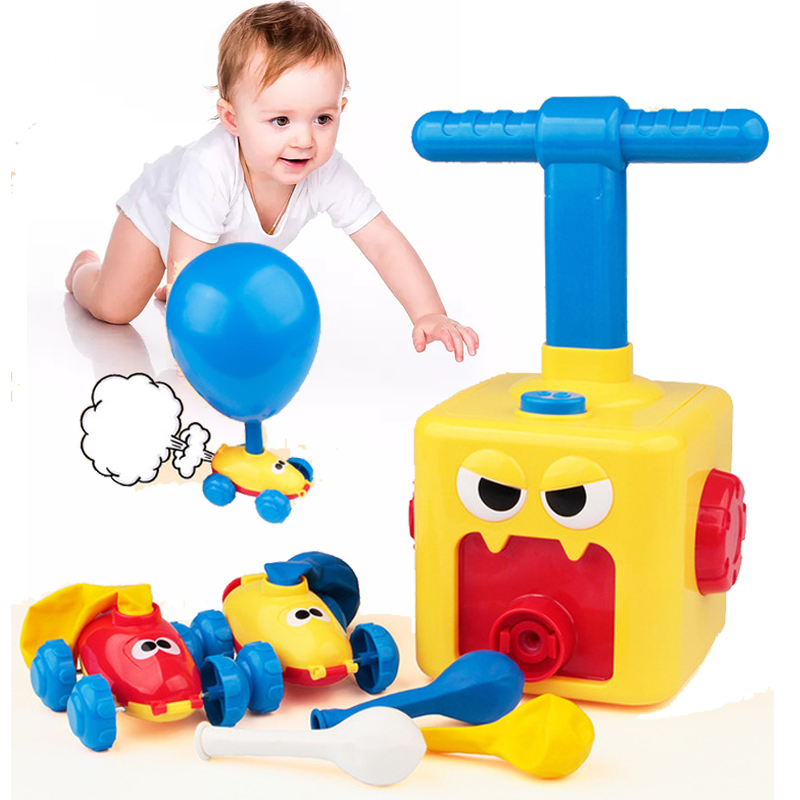 BALLOON LAUNCHER CAR TOY SET