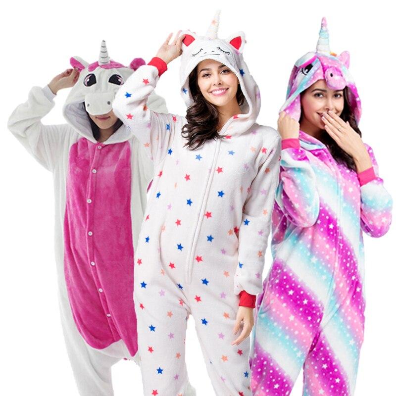 Kids Adult Pikachu Stich Hooded Unicorn Cosplay Costume Kigurumi Pyjamas Ones1A