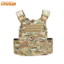 EXCELLENT ELITE SPANKER Hunting Quick Release Tactical Vest Molle Airsoft Vests Outdoor CS Game Plate Carrier Combat Vests